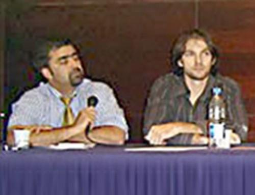 criação publicitária na mesa