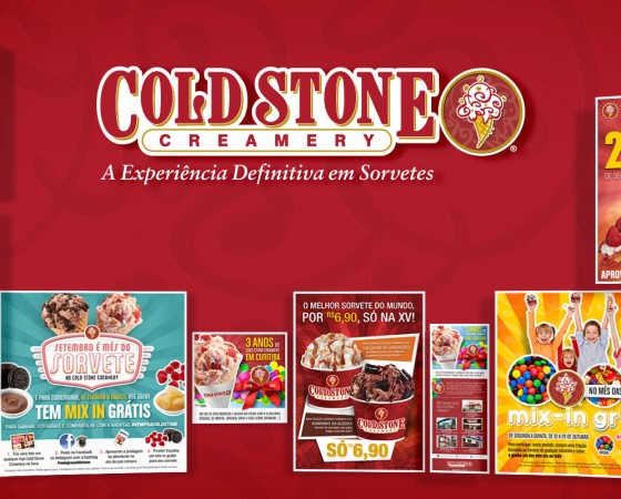 Cold Stone Creamery: promoção via e-mail marketing