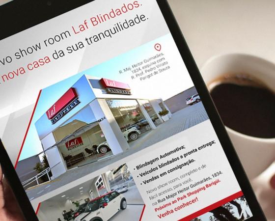 Laf Blindados: uma marca blindada com estratégia e comunicação digital