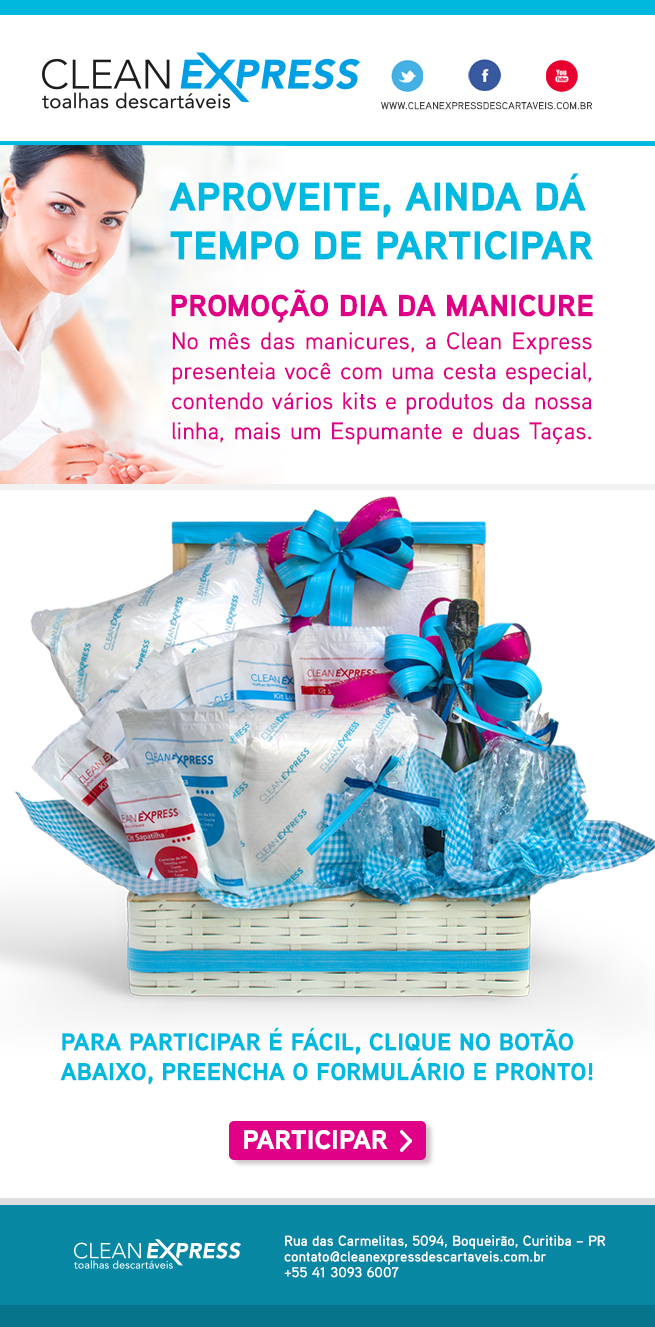 Clean Express Pontodesign Informativo E-mail Marketing Promoção