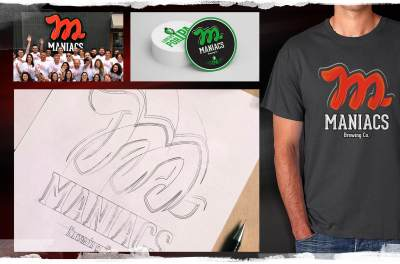 Maniacs Brewing Co. - Latas e Embalagens - Pontodesign