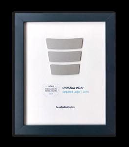 Pontodesign - Prêmio Ag6encia de Resultados - Segundo Lugar Categoria: Primeiro Valor/2016