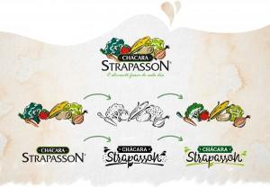 Pontodesign - Rebranding Chácara Strapasson