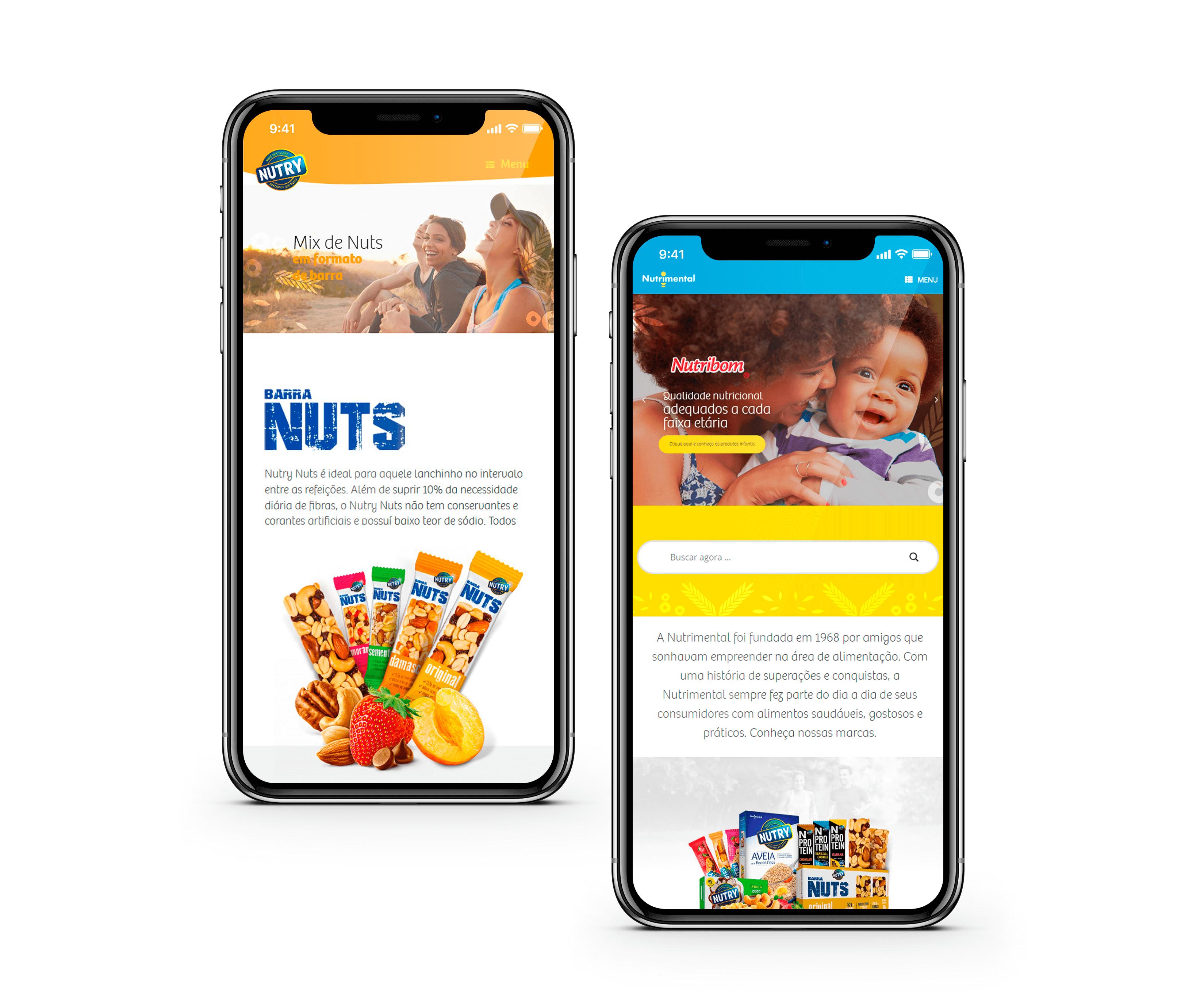 NOVO SITE NUTRIMENTAL - RESPONSIVIDADE E MULTIPLATAFORMA- PONTODESIGN AGENCIA DE DIGITAL, DESIGN E COMUNICAÇÃO