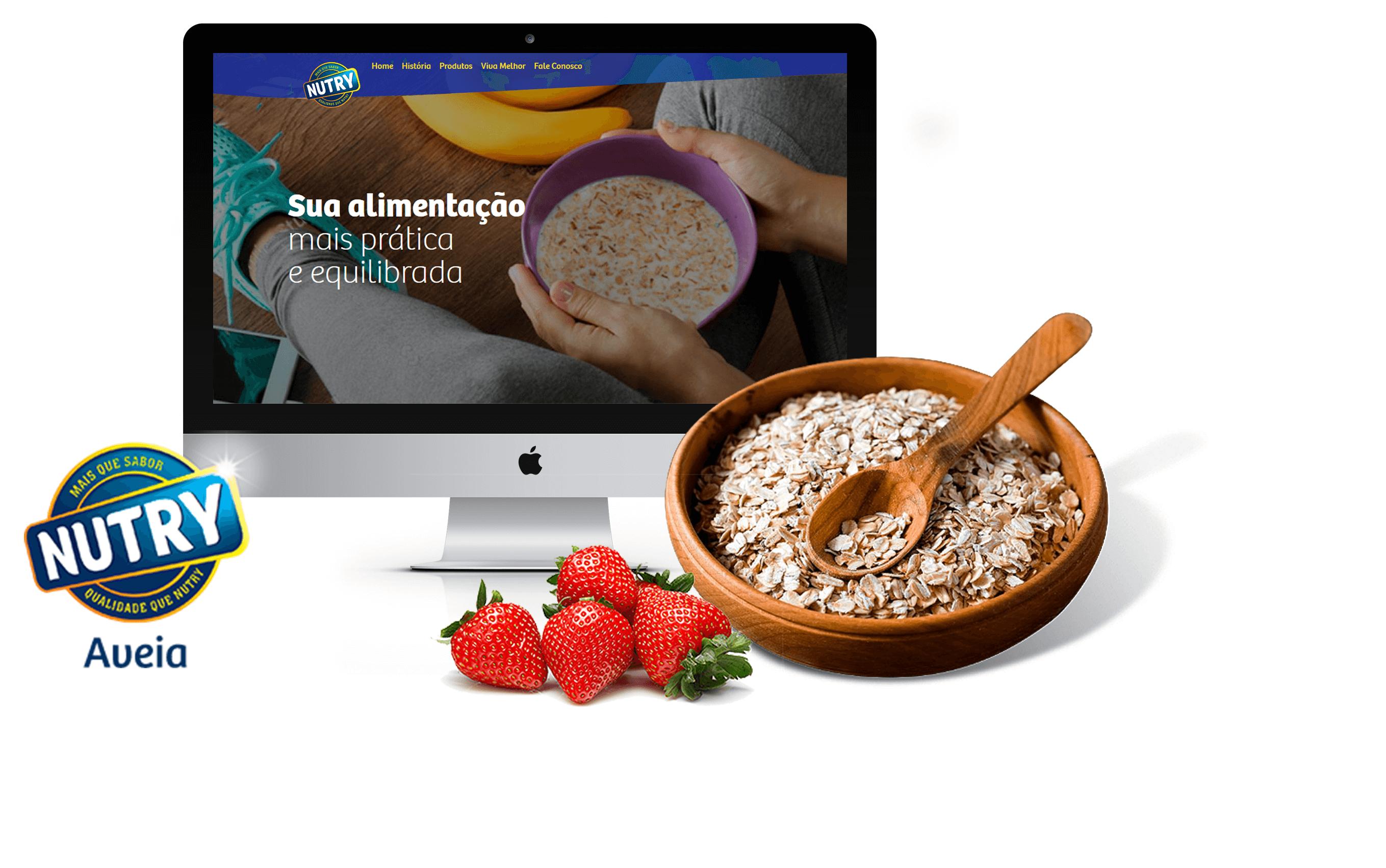 SITE NUTRY - AVEIA - PONTODESIGN
