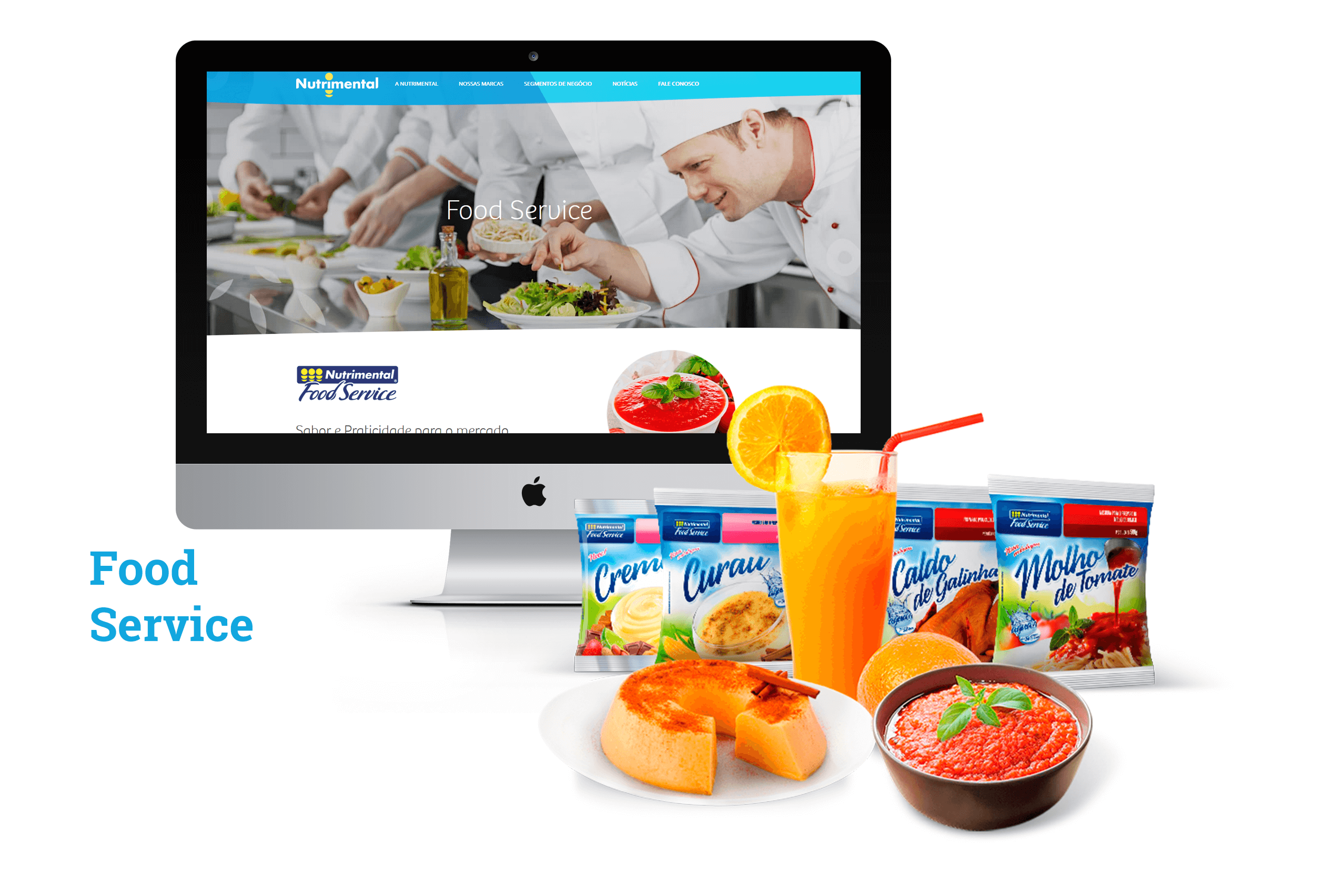 SITE NUTRIMENTAL - FOOD SERVICE - PONTODESIGN