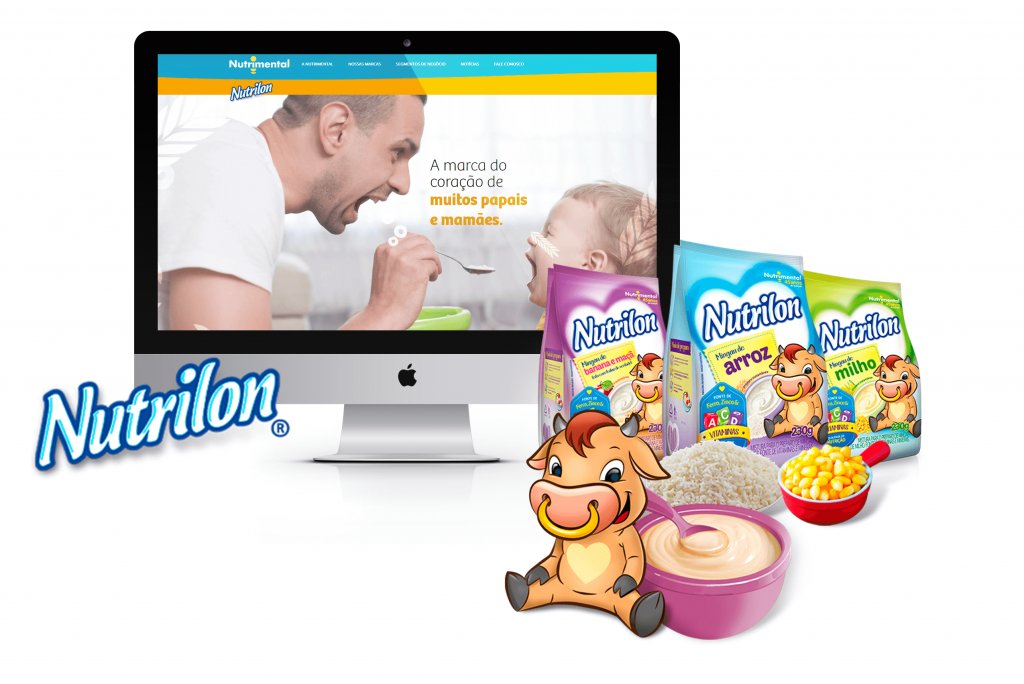 SITE NUTRIMENTAL - NUTRILON - PONTODESIGN