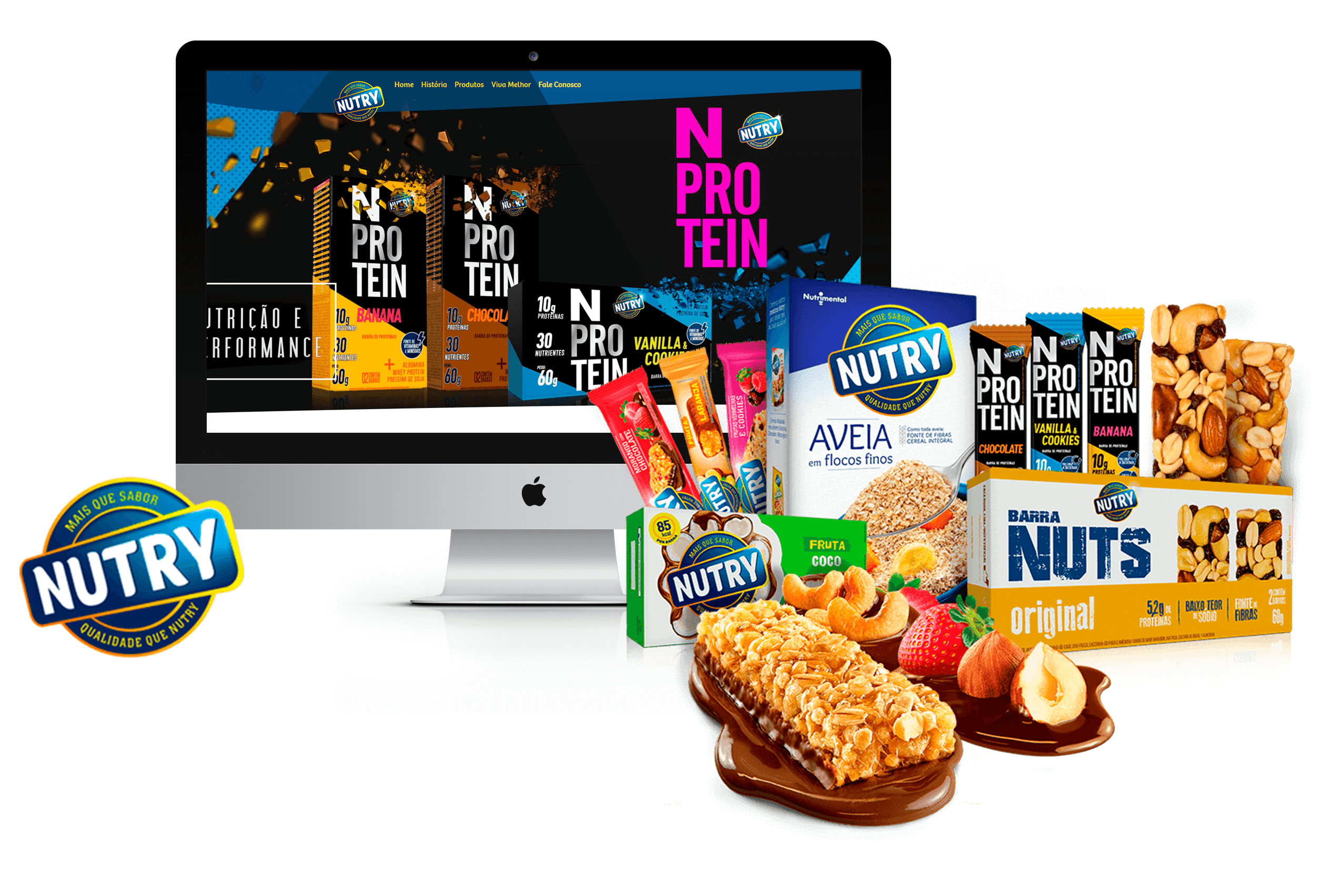 SITE NUTRIMENTAL - NUTRY - PONTODESIGN