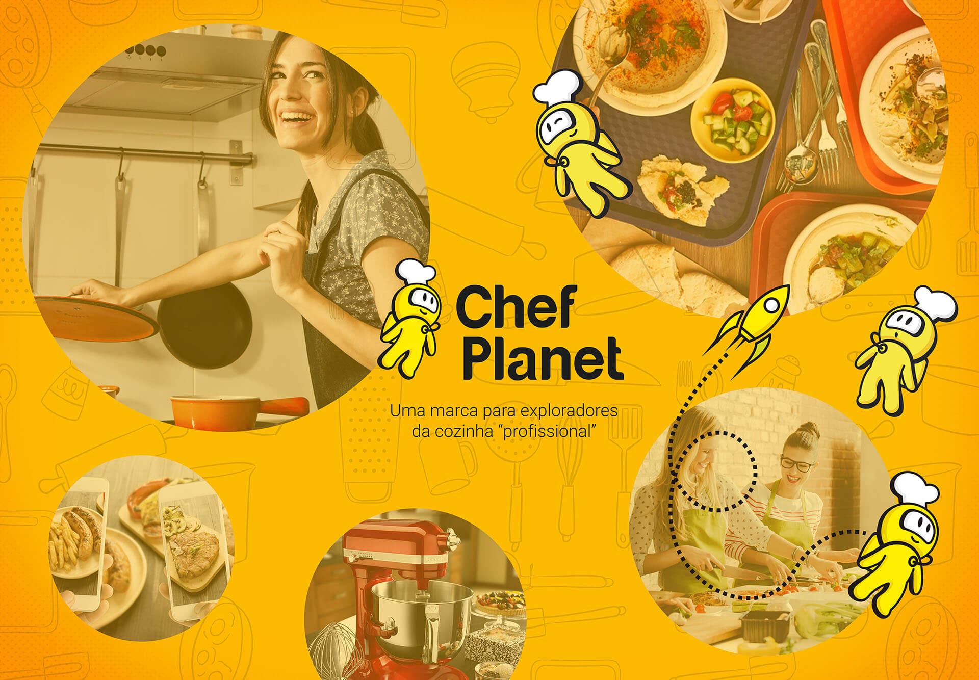 Branding Chef Planet - Pontodesign