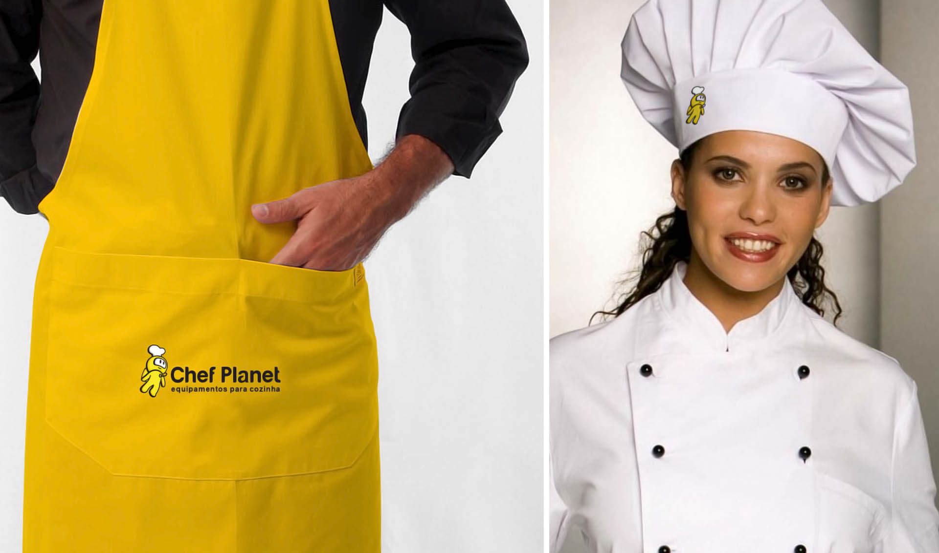 Branding Chef Planet - Pontodesign - Uniforme