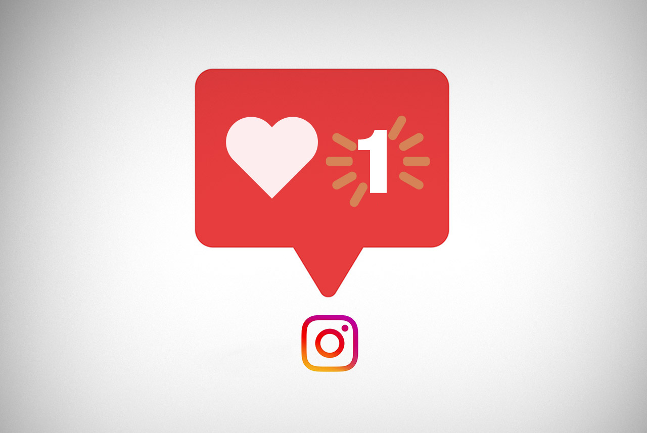 Instagram Fim do like - Pontodesign