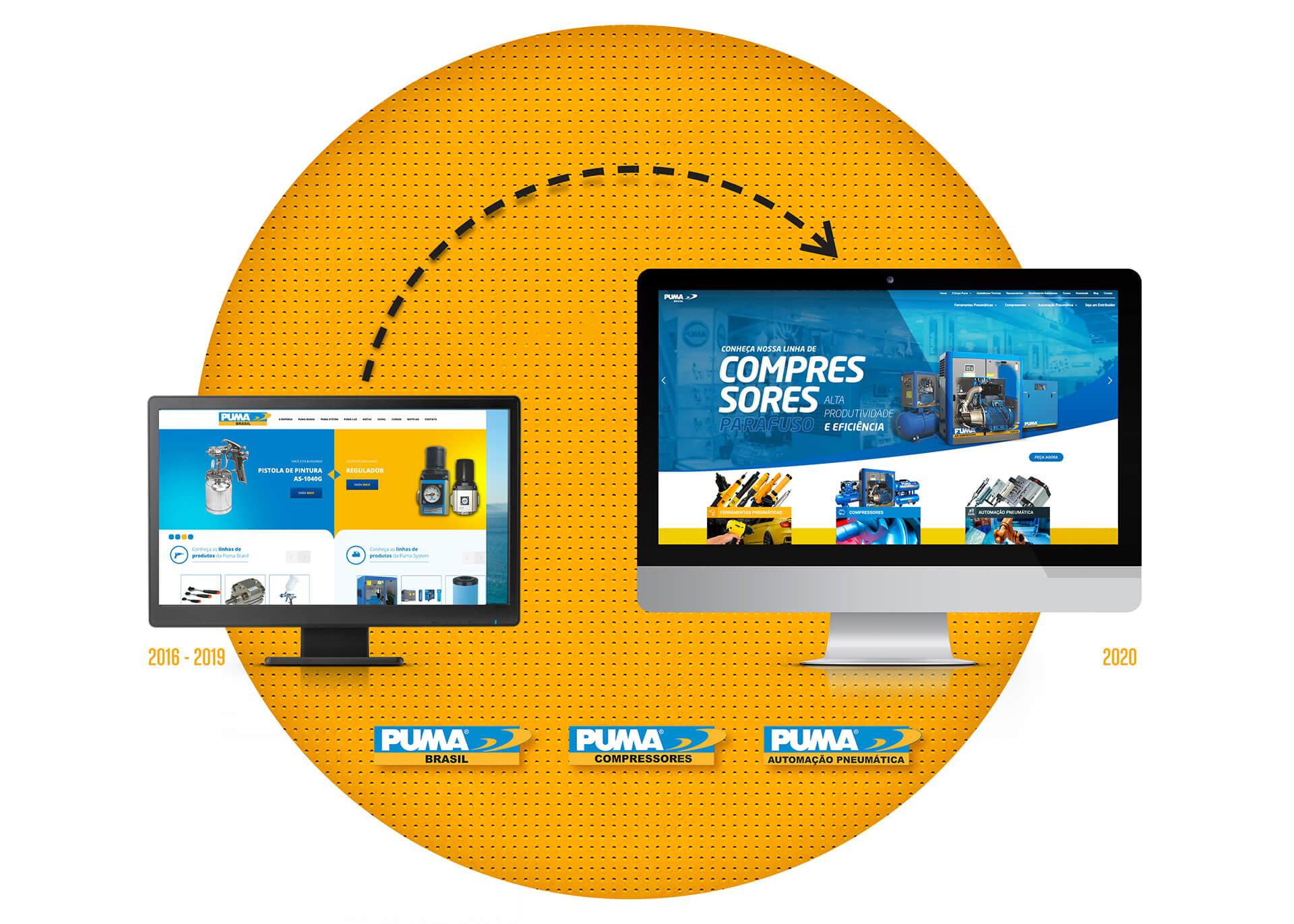 Puma Brasil - Novo site - Pontodesign