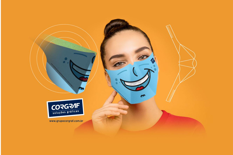 Máscaras Descartáveis Corgraf