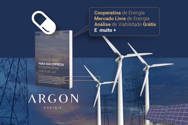 Argon Energia - Reduza em até 35% a conta de energia do seu comércio ou indústria